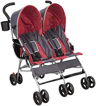 Best Double Lightweight Stroller DELTA CHILDREN LX SIDE BY SIDE STROLLER
