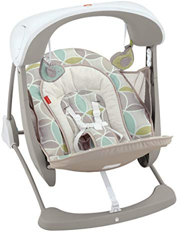 TOP RATED BABY SWING – FISHER-PRICE DELUXE TAKE ALONG SWING AND SEAT