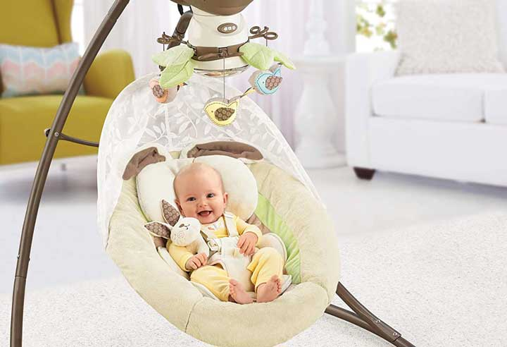 Fisher-Price-My-Little-Snugapuppy-Cradle-'n-Swing