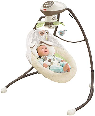 Best Overall Baby Swing FISHER-PRICE MY LITTLE SNUGAPUPPY CRADLE 'N SWING
