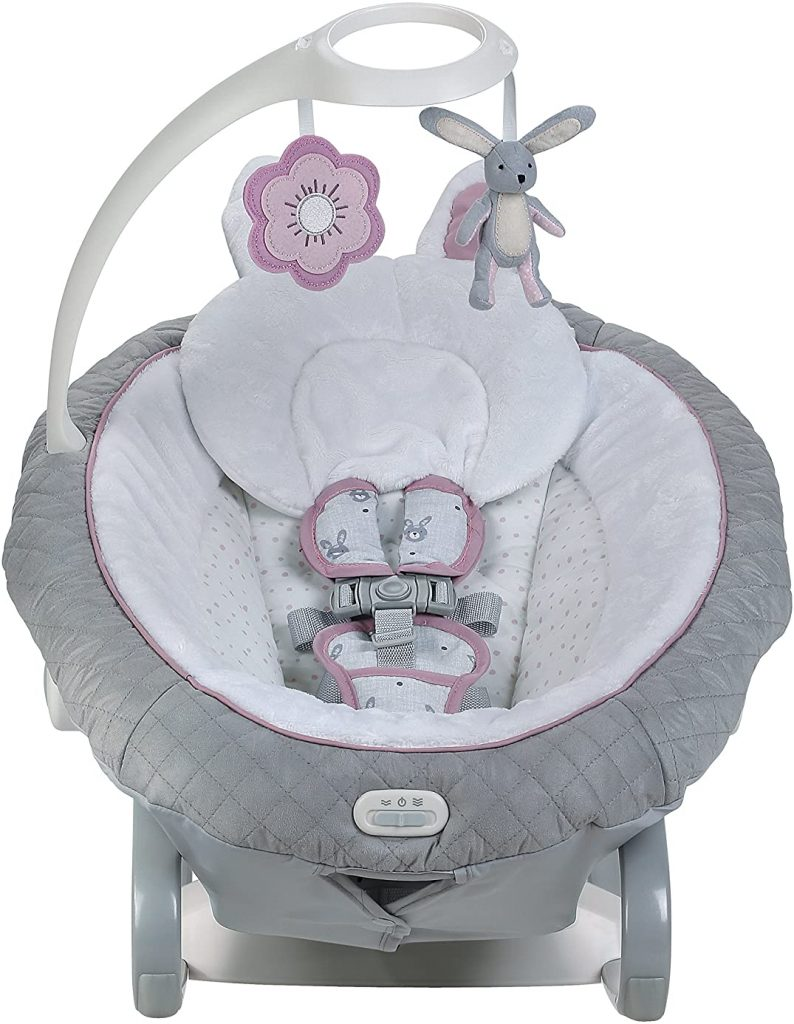 Graco EveryWay Soother Baby Swing with Removable Rocker, Josephine