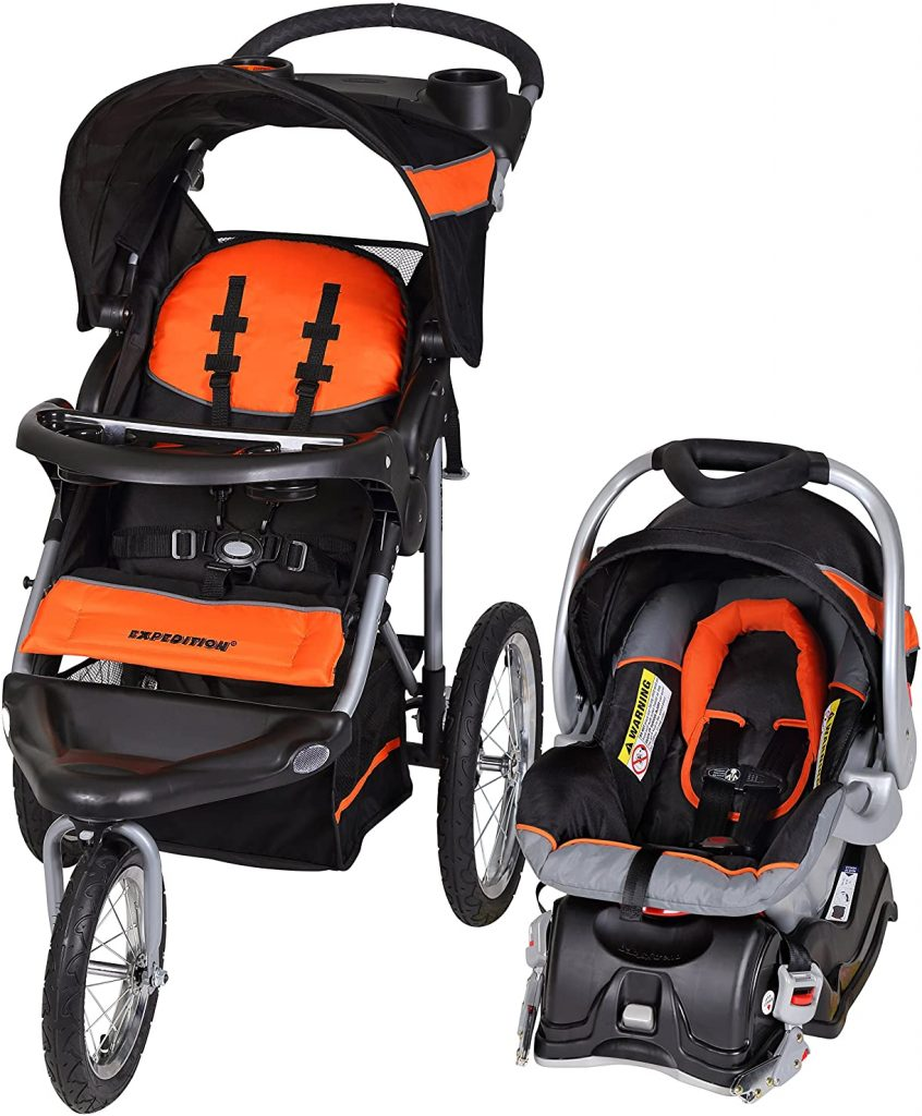 Baby Trend Expedition Jogger Travel System Car Seat Stroller