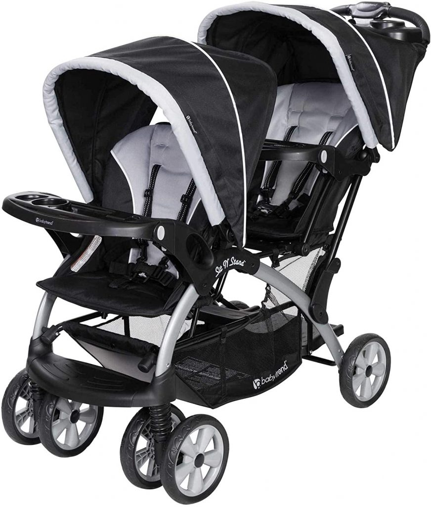 Baby Trend Sit N' Stand  Lightweight Travel Double Stroller