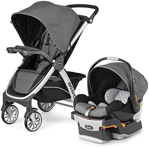 Chicco Bravo Trio Travel System Car Seat Stroller