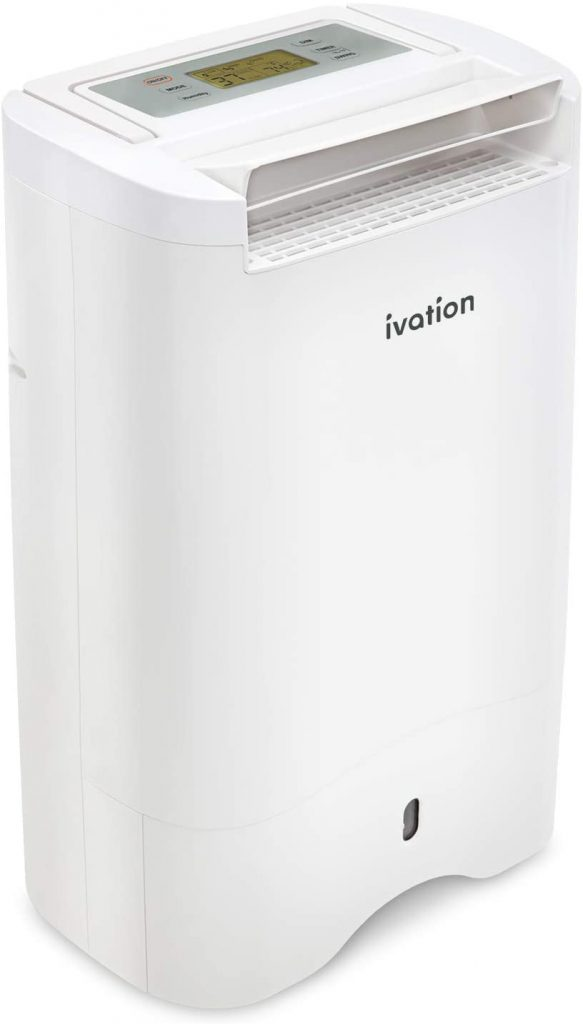Ivation Small Area Desiccant Dehumidifier